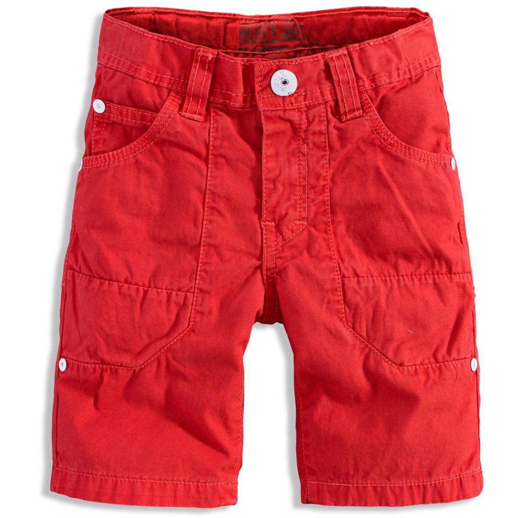 Chlapčenské šortky PEBBLESTONE THE NORTH oranžové