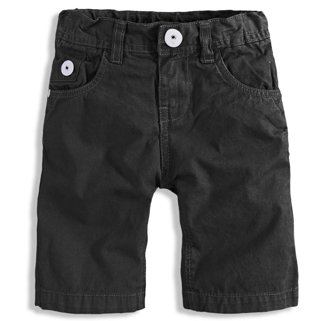 Detské šortky PEBBLESTONE LOS ANGELES čierne