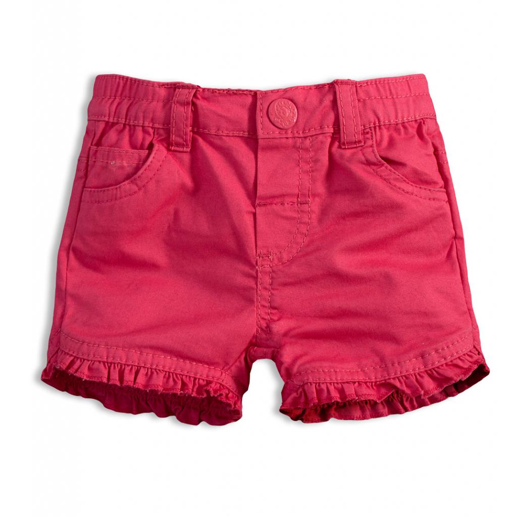 Dievčenské šortky KNOT SO BAD BABY ružové