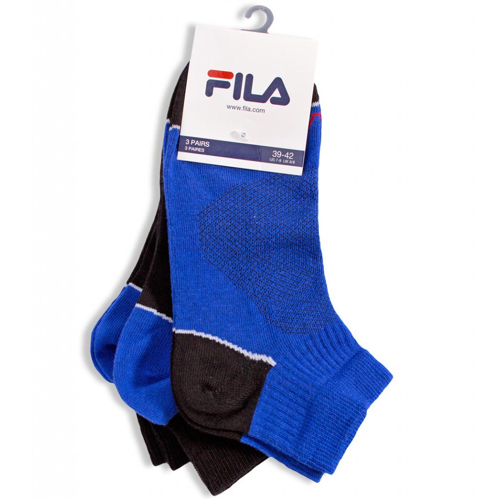 Športové ponožky FILA 3 páry modré