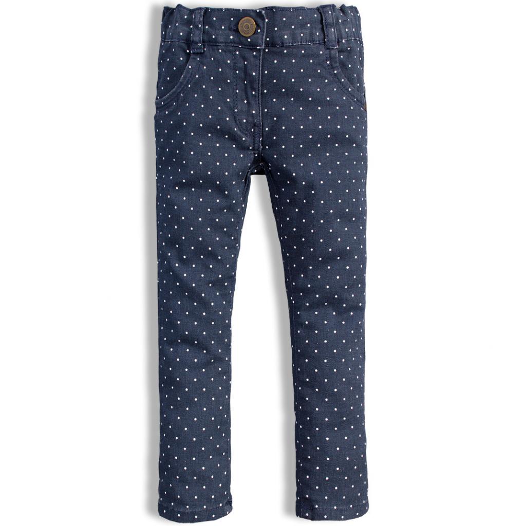 Dievčenské džínsové nohavice DIRKJE QUILTED modré