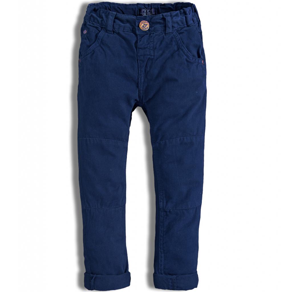 Chlapčenské nohavice MINOTI AUTO modré