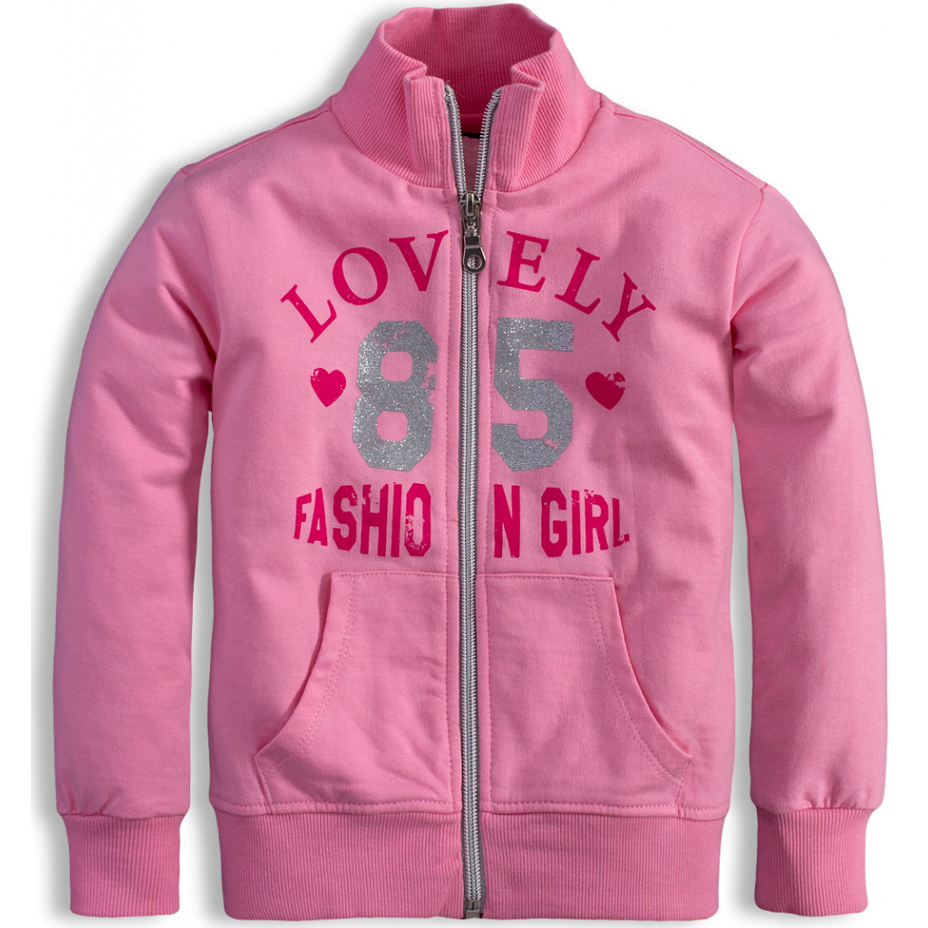 Dievčenská mikina Mix´nMATCH FASHION ružová