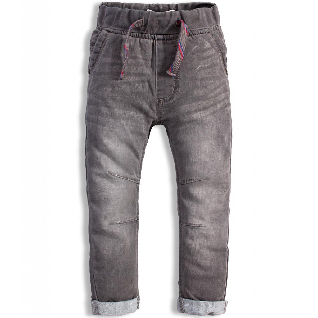 Chlapčenské džínsy MINOTI FLY šedé