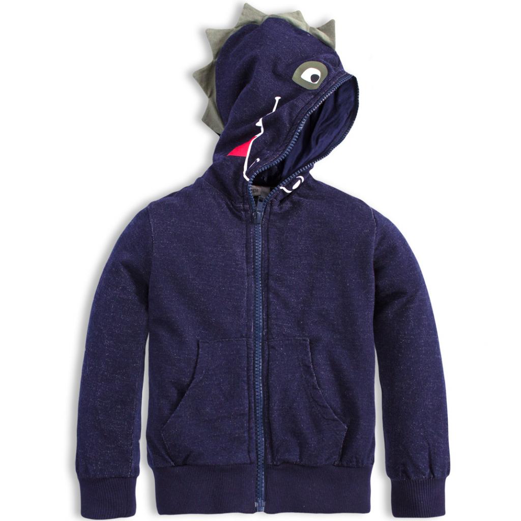 Chlapčenská mikina MixnMATCH DRAGON modrá