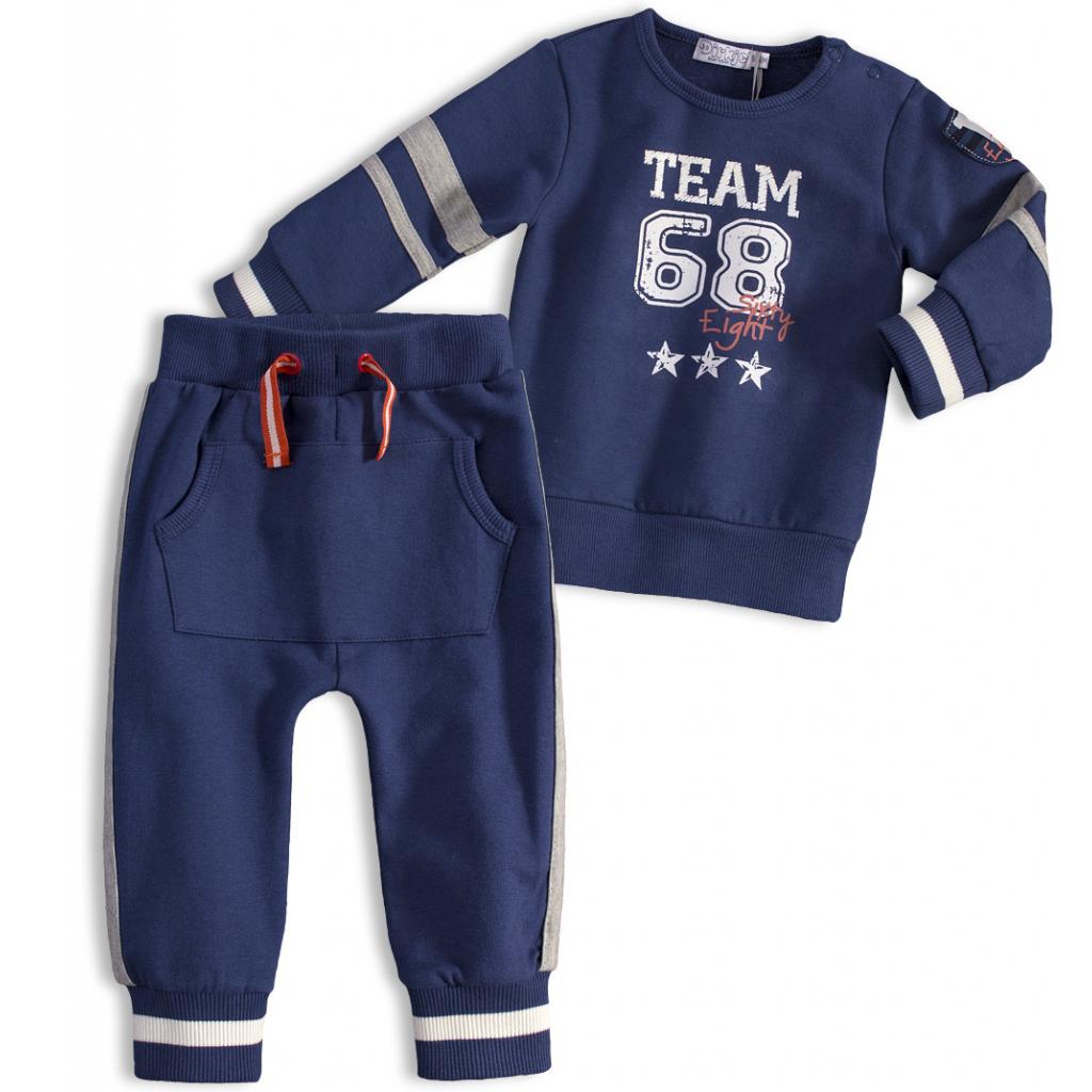 Chlapčenská súprava DIRKJE FRESH TEAM modrá jeans