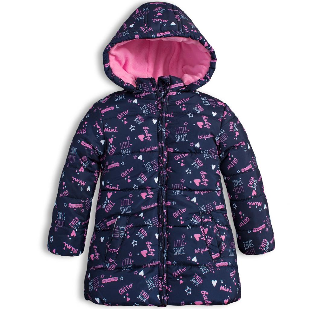 Zimná bunda pre dievčatá LOSAN LITTLE SPACE modrá