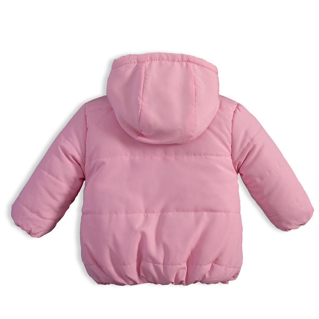 aeb8caf83981 Detská zimná bunda KNOT SO BAD ANIMALS ružová - PELEA.SK