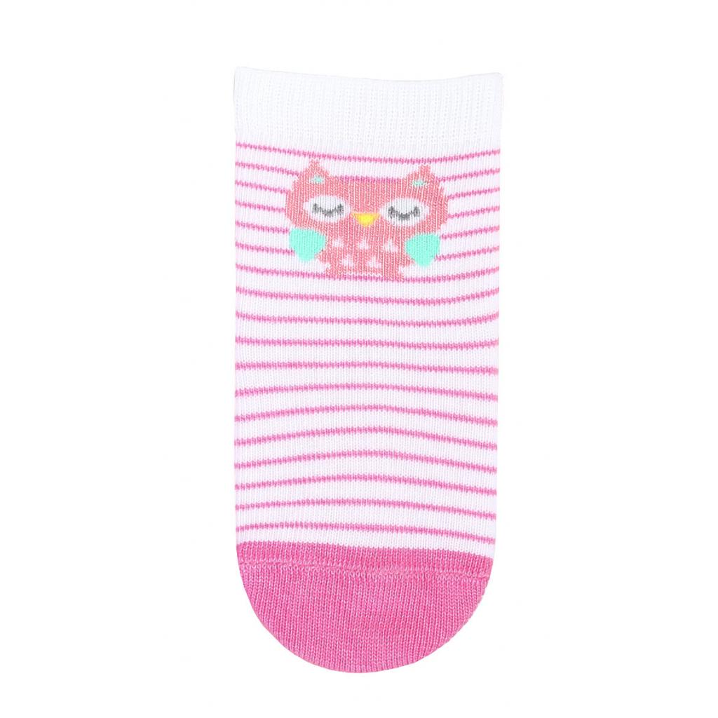Dievčenské dojčenské ponožky WOLA SOVIČKA biele