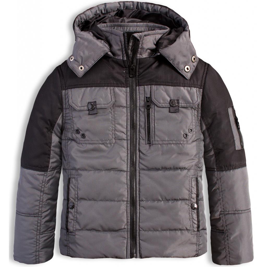 Chlapčenská zimná bunda LOSAN SUPERIOR šedá