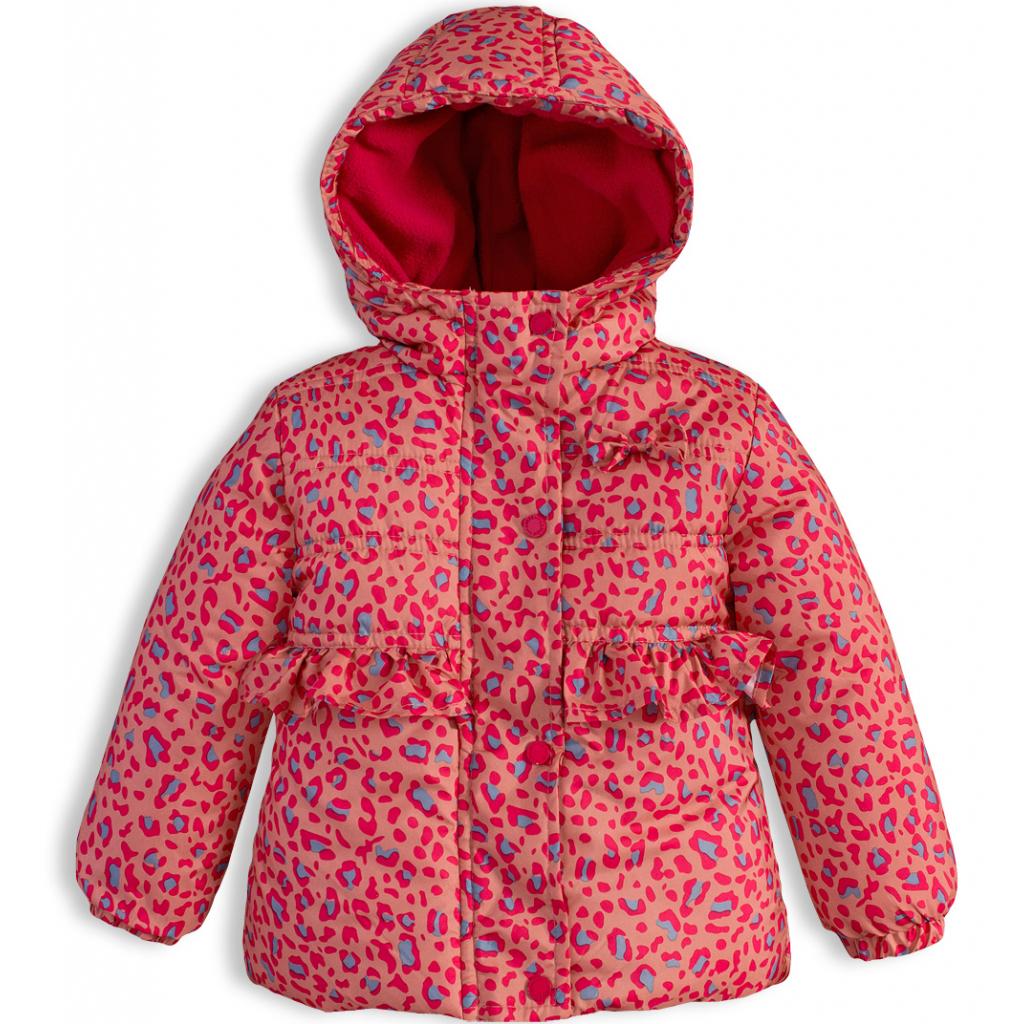 Dievčenská zimná bunda LEMON BERET POTLAČ oranžová - PELEA.SK 1c74dbb93d3