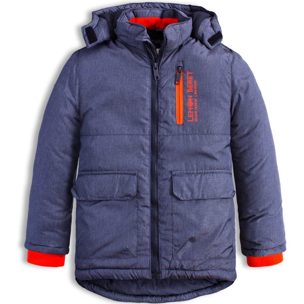 fdcbdc06f Chlapčenská zimná bunda LEMON BERET CITY modrá - PELEA.SK