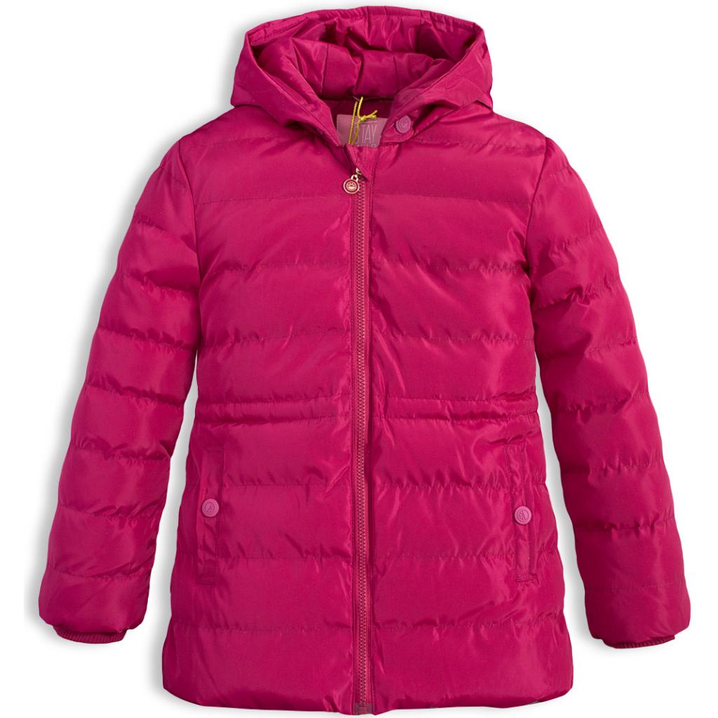 Dievčenská zimná bunda LEMON BERET STAY WILD vínová