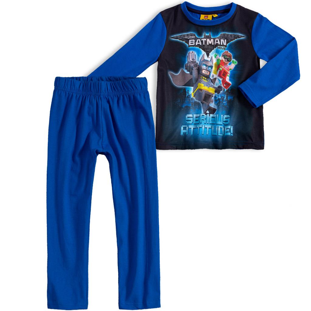 Chlapčenské pyžamo LEGO BATMAN MOVIE modré