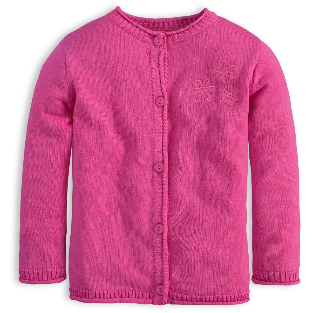 Dievčenský sveter KNOT SO BAD HORTENSIA ružový