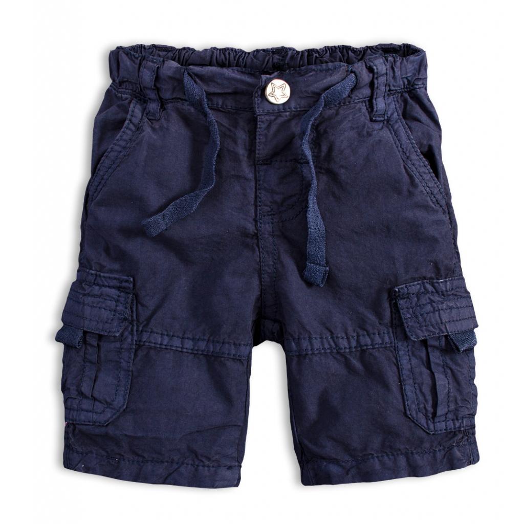 Chlapčenské plátenné šortky PEBBLESTONE GREATEST modré