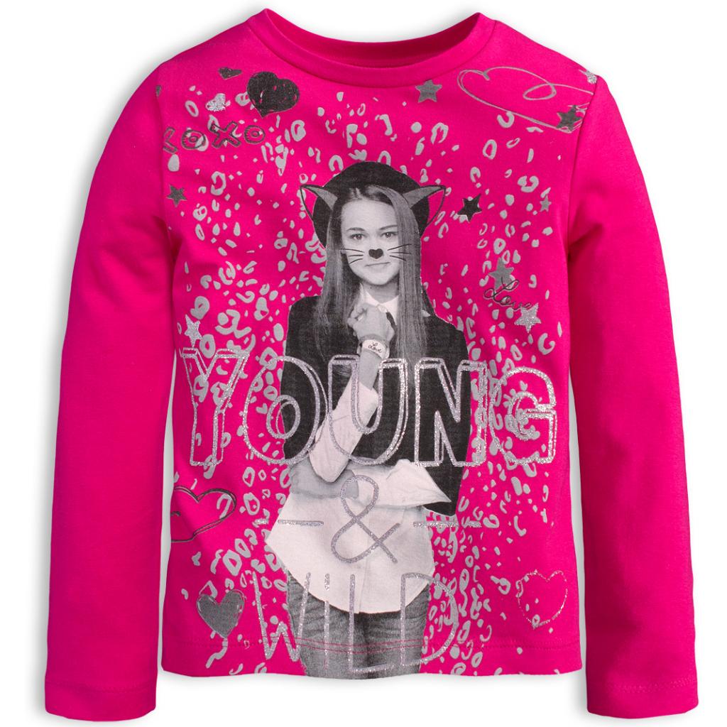 Dievčenské tričko KNOT SO BAD YOUNG ružové