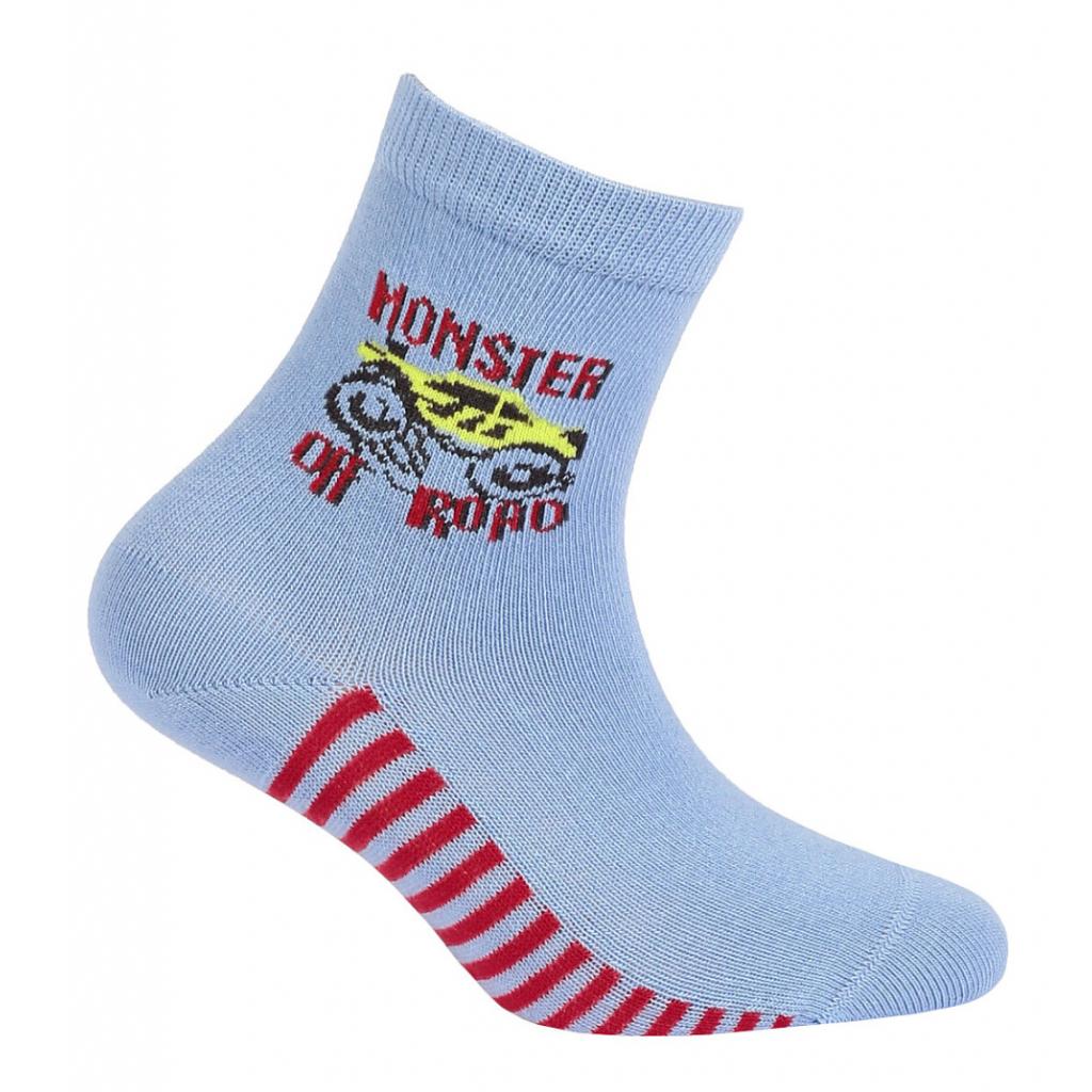 Chlapčenské ponožky s obrázkom GATTA OFF ROAD svetlo modré