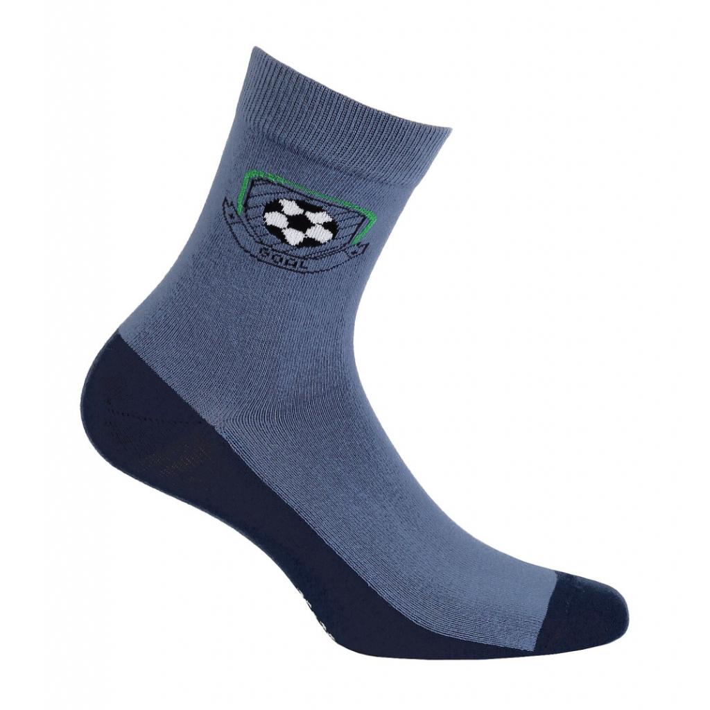Chlapčenské ponožky so vzorom GATTA GÓL modré