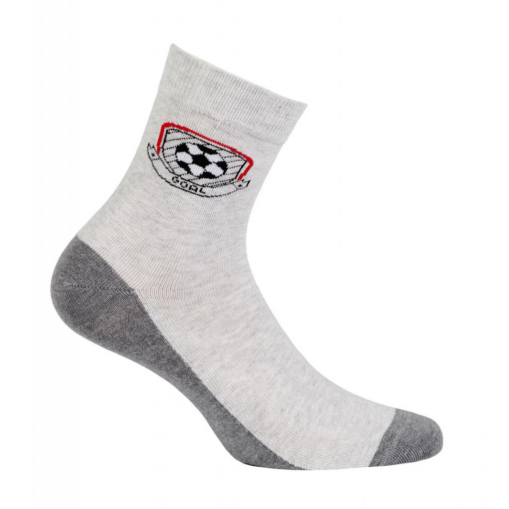 Chlapčenské ponožky so vzorom GATTA GÓL šedé