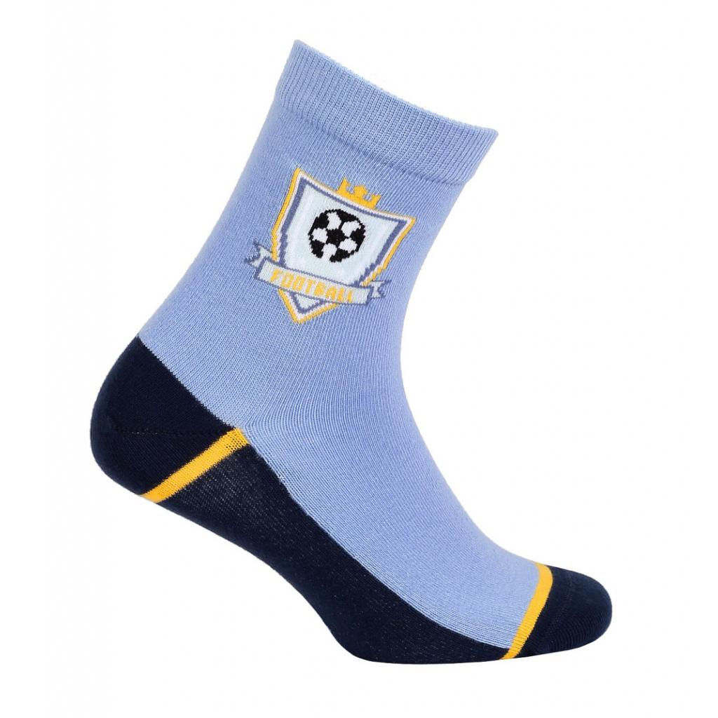 Chlapčenské ponožky so vzorom WOLA FUTBAL modré