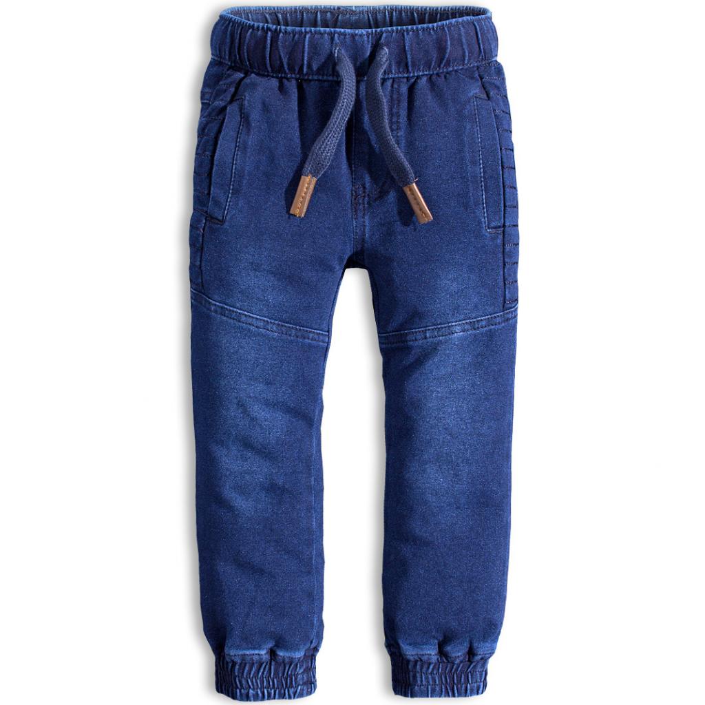 Chlapčenské nohavice KNOT SO BAD JOGGING modré