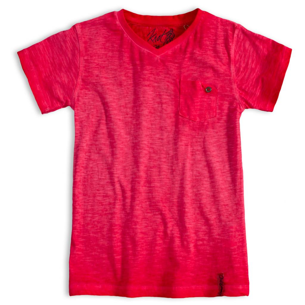 Chlapčenské tričko KNOT SO BAD CALIFORNIA červené