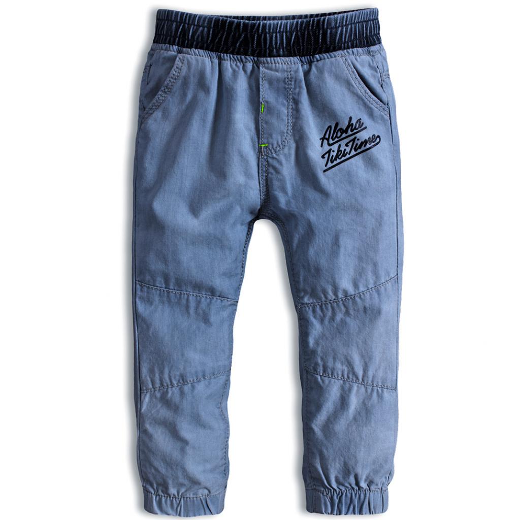 Detské nohavice KNOT SO BAD ALOHA stredne modré