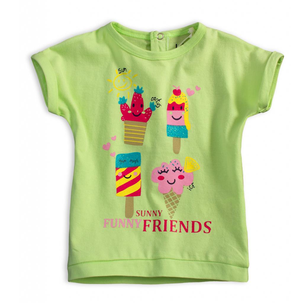 Detské tričko KNOT SO BAD FUNNY SUNNY zelené