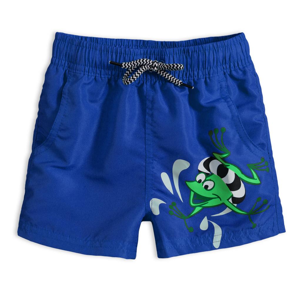 Chlapčenské plavky KNOT SO BAD FROG modré