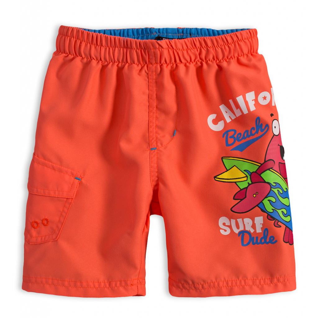 Chlapčenské plavky LEMON BERET SURF DUDE oranžové