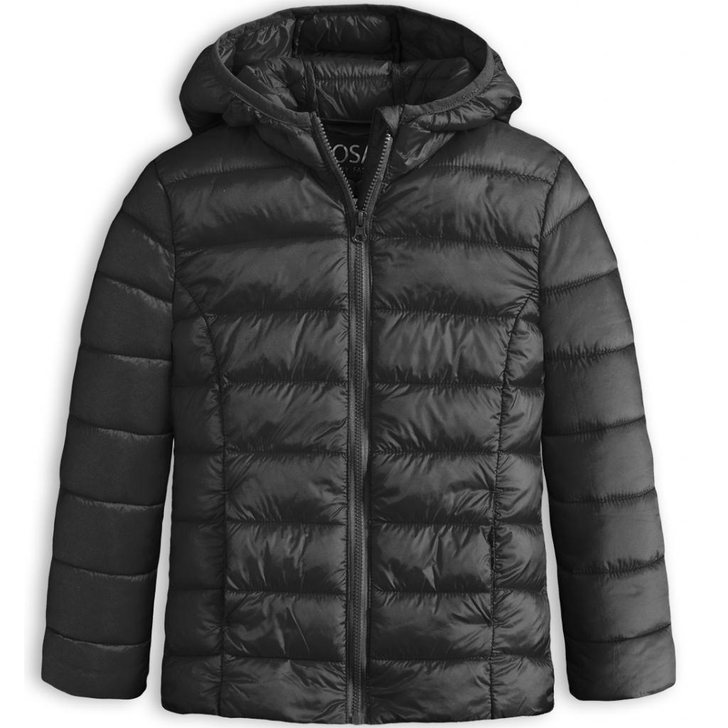 Dievčenská prešívaná bunda LOSAN SCHOOL čierna