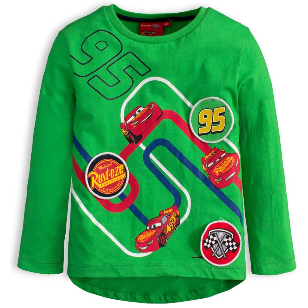 Chlapčenské tričko DISNEY CARS AUTÁ zelené