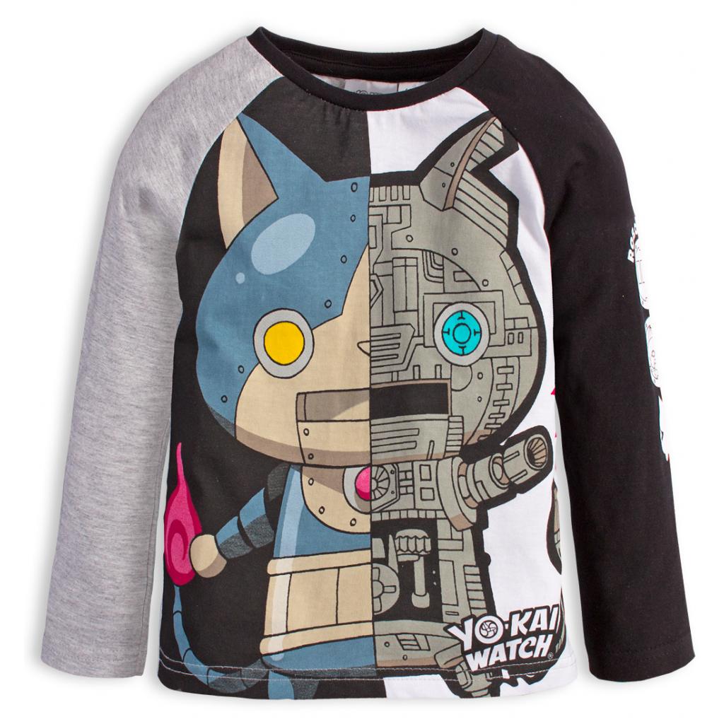 Chlapčenské tričko YOKAI WATCH ROBONYAN šedé