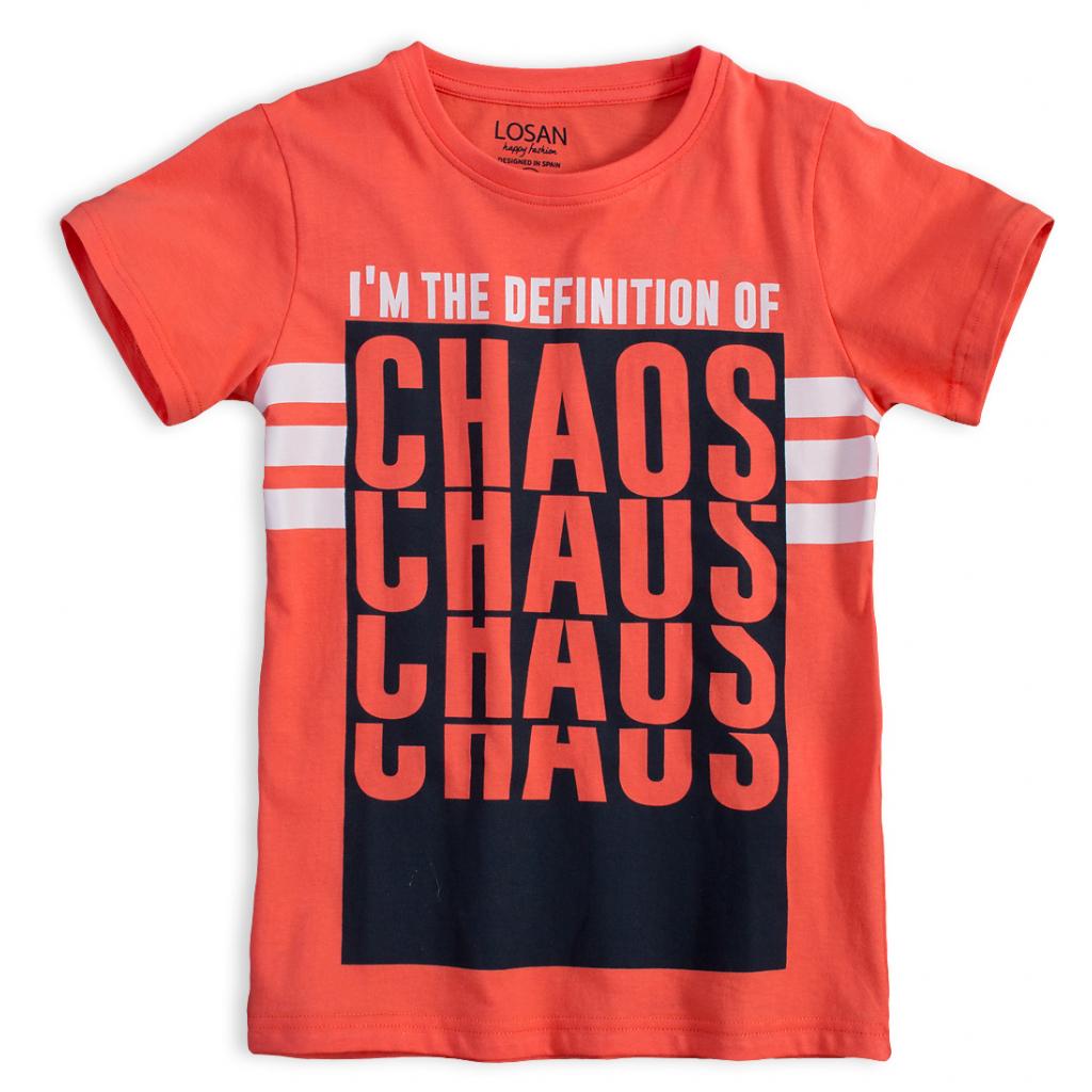 Chlapčenské tričko LOSAN CHAOS oranžové
