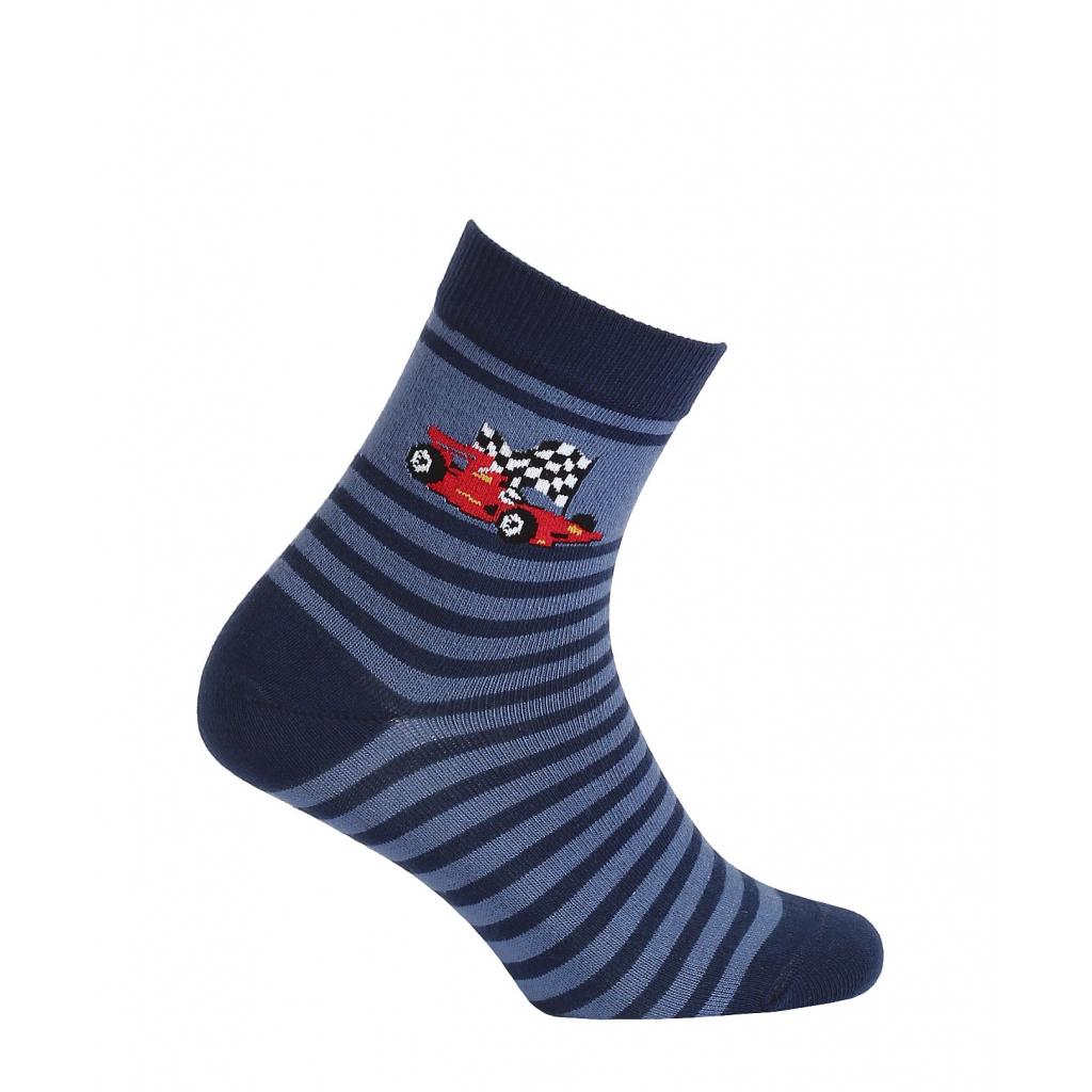 Chlapčenské ponožky vzor WOLA FORMULA modré