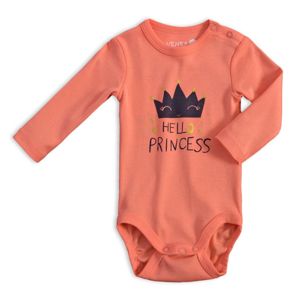 Dojčenské body VENERE PRINCESS oranžové