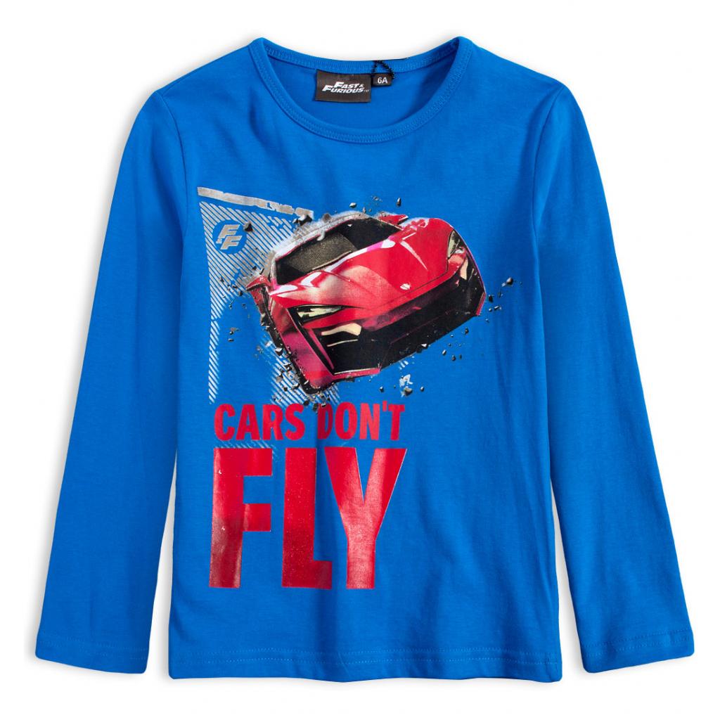 Chlapčenské tričko FAST&FURIOUS CARS DON´T FLY modré