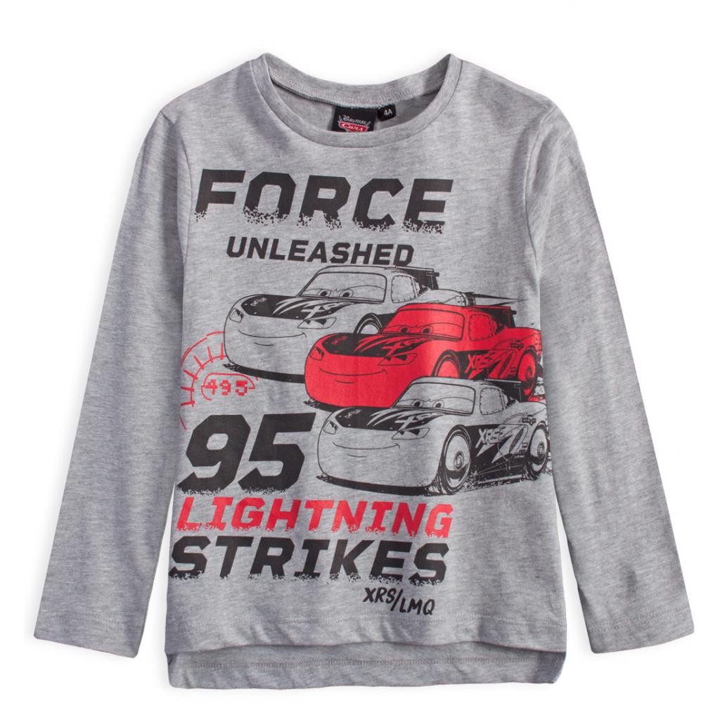 Chlapčenské tričko DISNEY CARS FORCE šedé