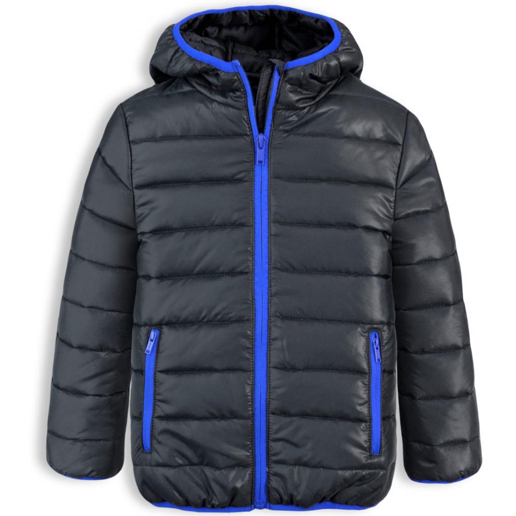 Chlapčenská prešívaná bunda LOSAN BOY STYLE čierna