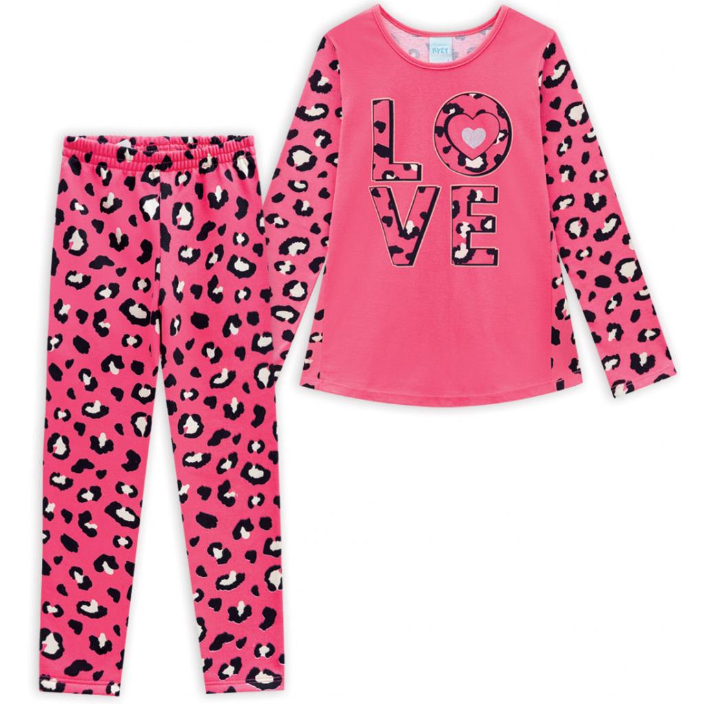 Dievčenské pyžamo KYLY LOVE ružové