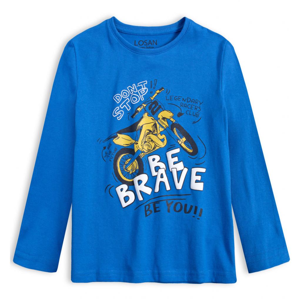 Chlapčenské tričko LOSAN MOTORKA modré