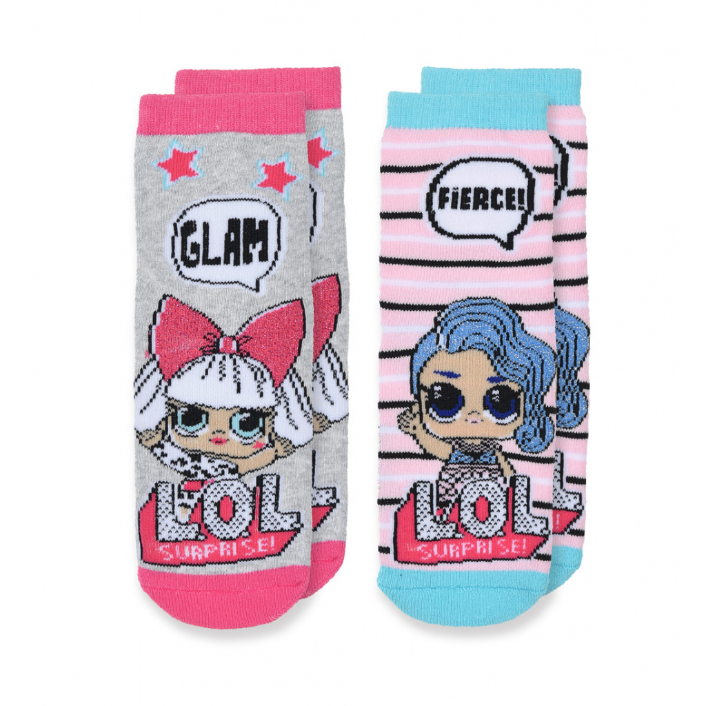 Dievčenské termo ponožky L.O.L.SURPRISE GLAM šedé