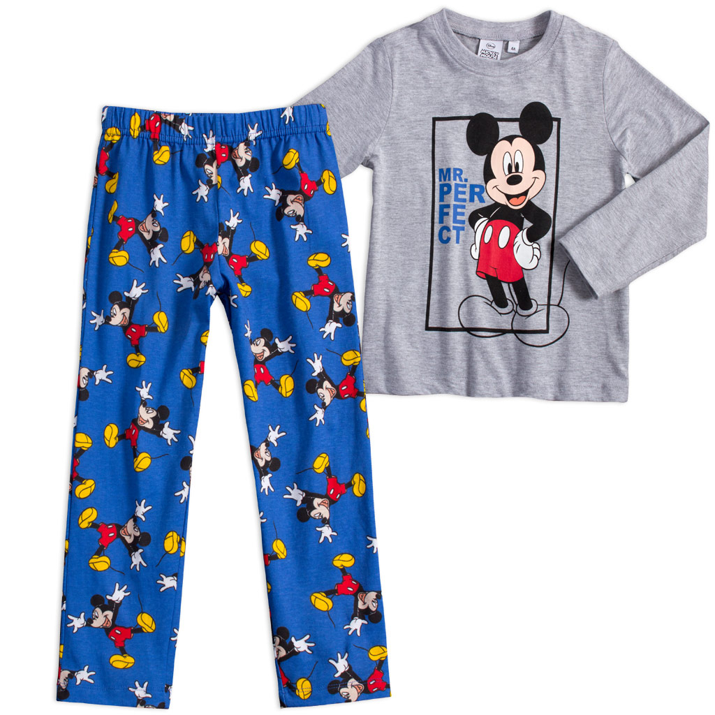 Chlapčenské pyžamo DISNEY MICKEY MOUSE Mr.PERFECT šedé
