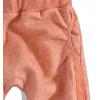 Dievčenské tepláky Dirkje oranžový melír