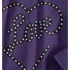 185505 1 divci triko dlouhy rukav girlstar fialove