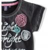 Dievčenské tričko krátky rukáv, PEBBLESTONE