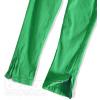 Dievčenské farebné džínsy TEIDEM zelené