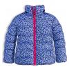 Dievčenská zimná bunda LEMON BERET POTLAČ modrá