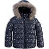 145043 dievcenska zimna bunda lemon beret hviezdicky modra